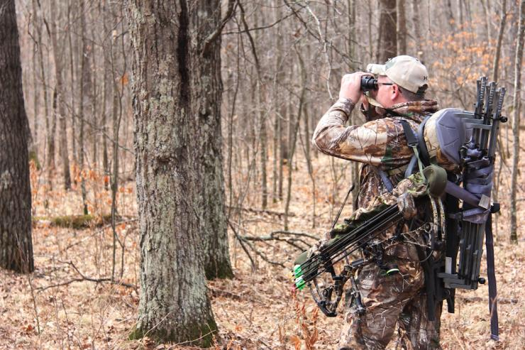 The value of thorough scouting cannot be overstated. Learn the area well so when you do get in a stand, you have the confidence that you are in the right spot. (Photo courtesy of Bernie Barringer)