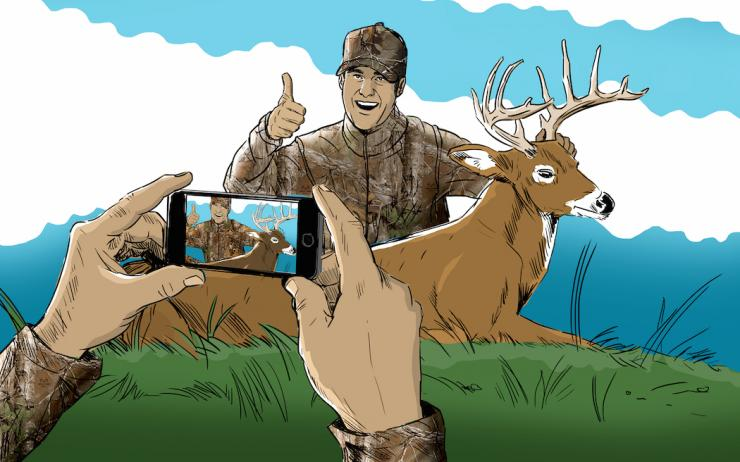 Do you portray hunting in a good light? (Ryan Orndorff illustration)