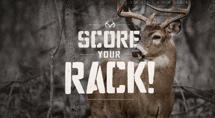 Realtree Score Your Rack