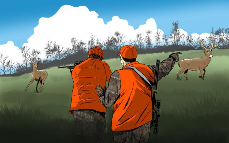 Have you ever shot a deer that you wished you hadn't? (Ryan Orndorff illustration)