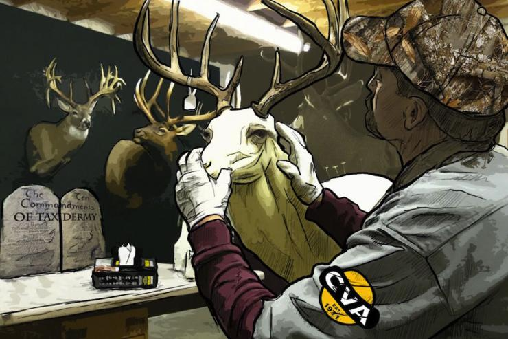 Do you follow the 10 commandments of taxidermy prep? (Ed Anderson illustration)