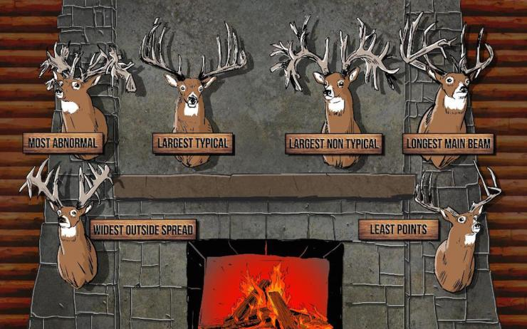 Would you like a fireplace decorated with deer that looked like this? (Ryan Orndorff illustration)