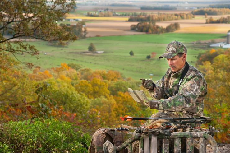 There are numerous ways to combat treestand theft. (Brad Herndon photo)
