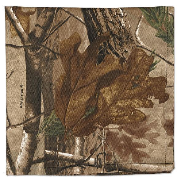 Use these Realtree placemats, napkins and dish towels to add a touch of the outdoors to your table.