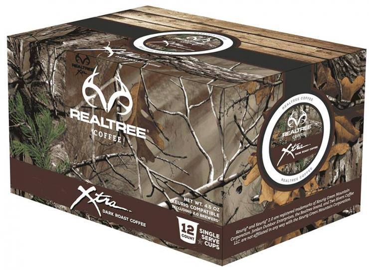 Realtree K-Cups, quality coffee with the look you love.