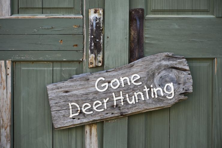 Pranks can liven things up at deer camp. (Shutterstock photo)