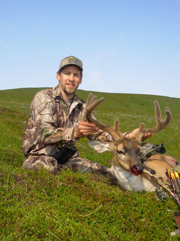 Joe Bell poses with a Sitka black-tailed deer. (Joe Bell photo)