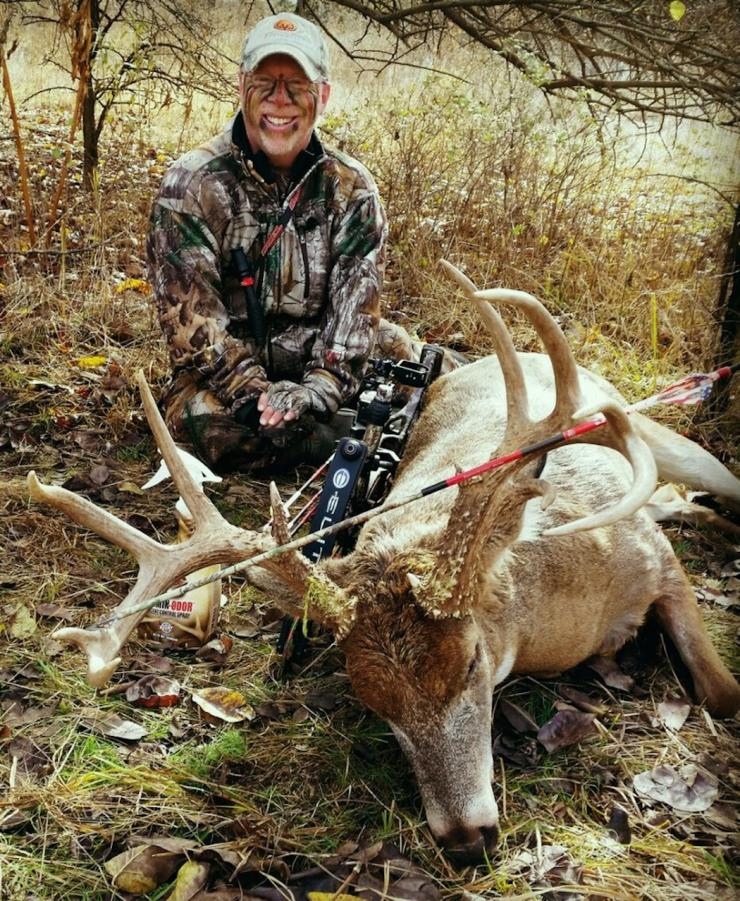 Phillip Vanderpool's 2015 Kansas buck.