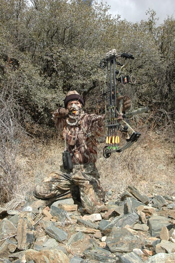 A good bowhunting practice regimen should include plenty of shooting while wearing your hunting gear. (Realtree photo)