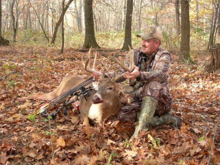 Your best chance of success in the whitetail woods is often on opening day.  (C.J. Davis photo)
