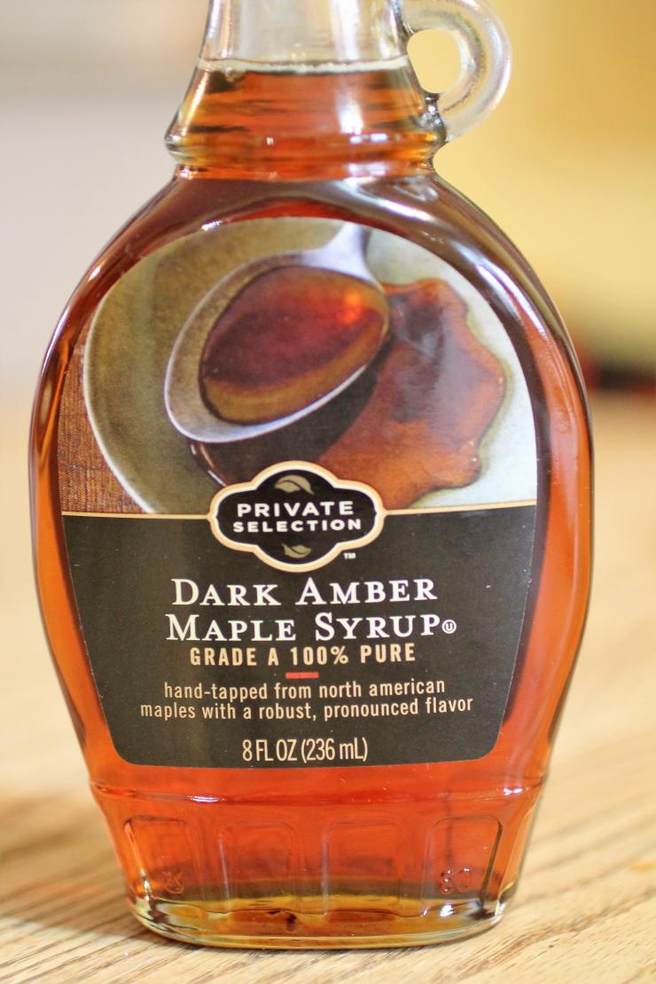 Use high quality syrup for a touch of maple sweetness.