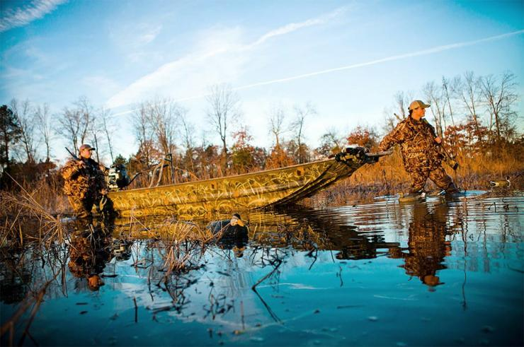 Do you hunt timber? Big water? The definition of a perfect duck boat varies by the conditions hunters face. Photo © War Eagle Boats