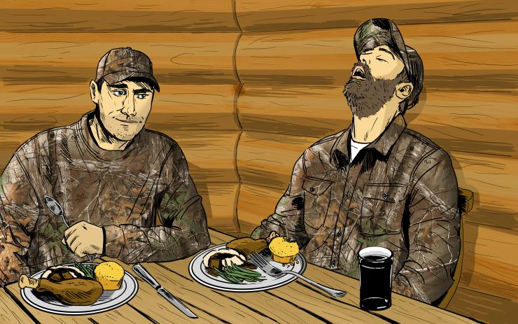 What Kind of Turkey Hunter Are You? (c) Ryan Orndorff illustration