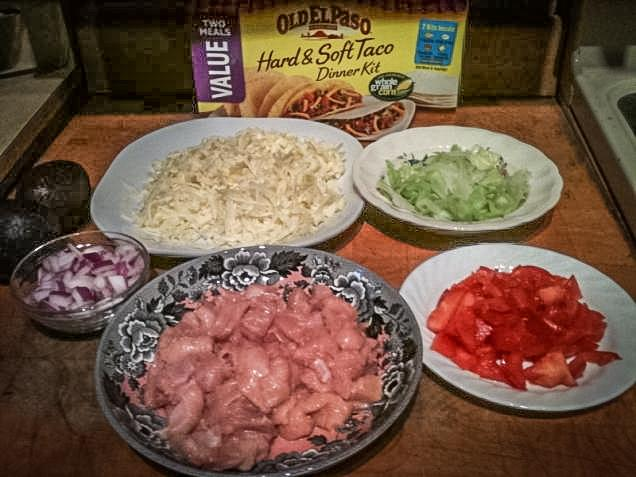 Building your wild turkey taco. (Steve Hickoff photo)
