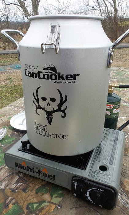 The Can Cooker uses steam and convection to quickly produce slow cooked results.