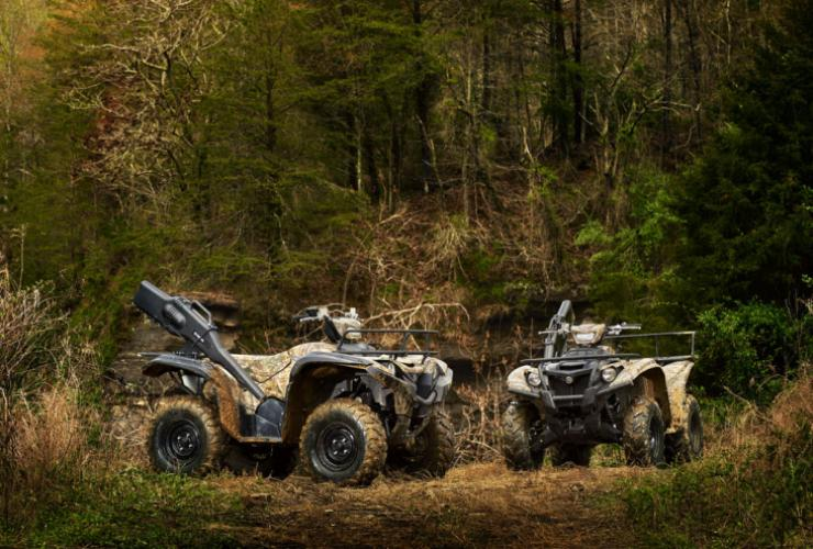 2017 Yamaha Grizzly >> Yamaha Introduces 2017 Grizzly And Kodiak Atvs In Realtree Xtra