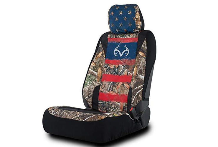 Sensational Realtree Americana Low Back Seat Cover In Edge Single Alphanode Cool Chair Designs And Ideas Alphanodeonline