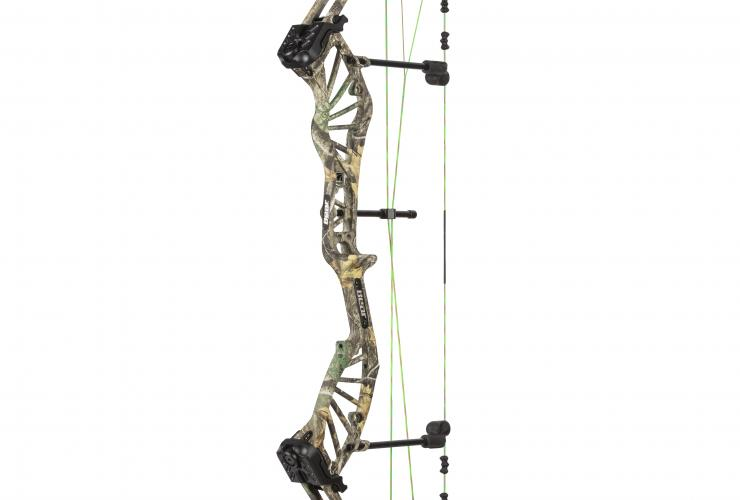 Bear New 2018 Archery Approach RTH Compound Bow 60# Left Hand Realtree Edge Camo