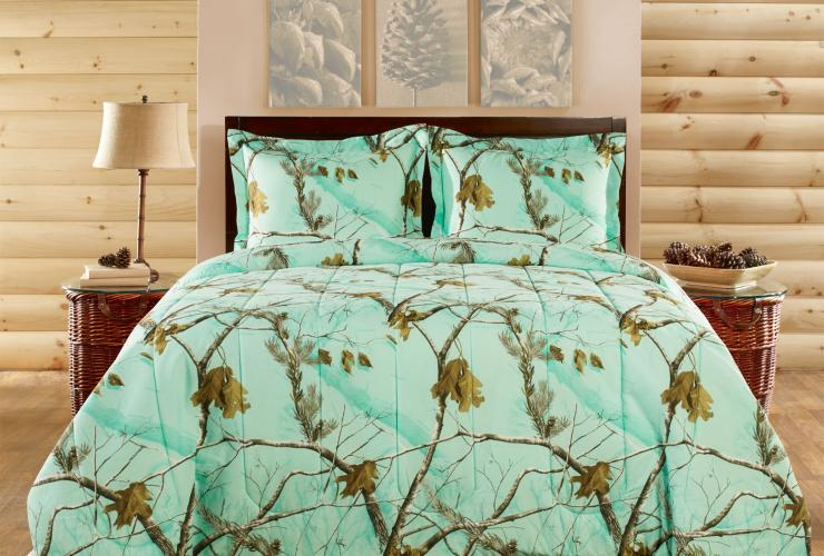New Realtree AP HD Camo Colors Bedding By 1888 Mills