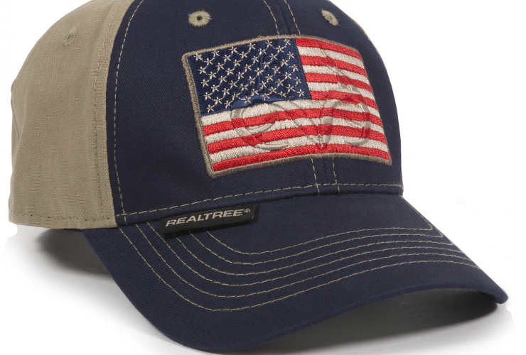 b4ddf90c416ee Outdoor Cap RT07A Realtree America Flag Hat