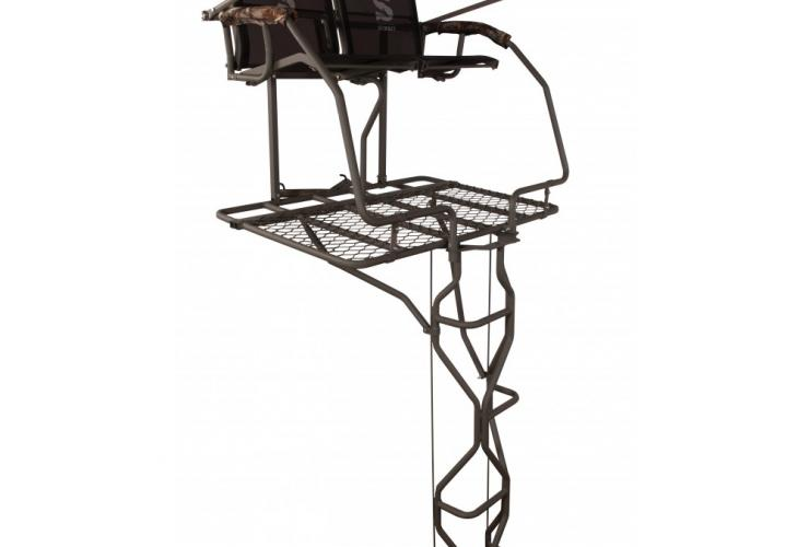 Summit Treestands Vine Double Ladder Stand With Realtree