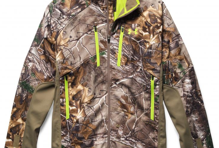 Under Armour Scent Control Coldgear Infrared Softershell Jacket