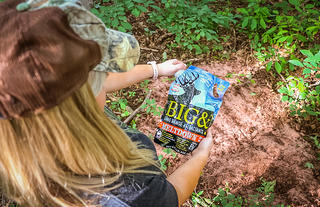 Big & J's Meltdown, along with Legit and HeadRush, are great mineral supplements for whitetails. (Josh Honeycutt photo)