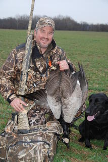 Sean Mann's love of duck and goose hunting began when he was young. That passion continues today. Photo © Sean Mann