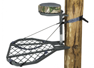 Helium XL Hang-On Treestand with Realtree Xtra Memory Foam Cushion by Hawk