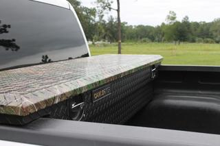 Camlocker Truck Bed Toolboxes in Realtree Camo