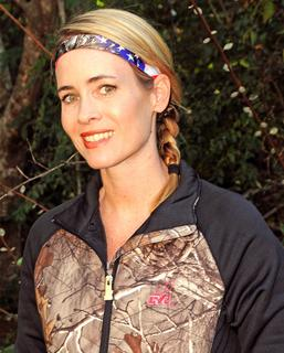 I'm sporting the Realtree Sweaty Bands Patriotic Xtra Headband and the Realtree Girl RG Logo Fitted Jacket. ©Stephanie Mallory