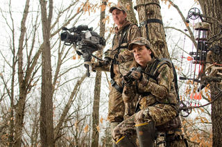 Getting quality hunting footage takes practice. (John Hafner image)