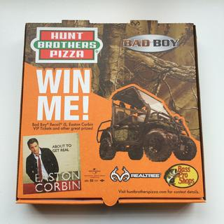 "Hunt Brothers® Pizza Fourth Annual ""Hunt To Win"" Sweepstakes"