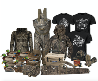 What duck hunter wouldn't want to win this loaded prize package?
