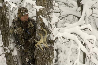 Dealing with cold is a big part of bowhunting in late season. Dressing right allows you to stay in the game and perform at your best. (Patrick Meitin photo)