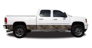 Camo Accent Vehicle Wrap