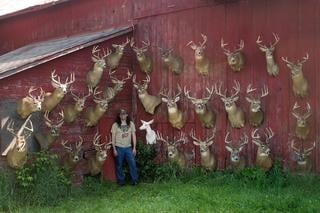 Dan Infalt poses with some of the deer he's tagged. Most of which came off of public land. (Photo courtesy of Dan Infalt)