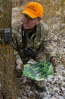 Use trail cameras in conjunction with other scouting strategies. (Brad Herndon photo)
