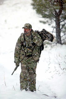 Don't allow the weather to dictate your hunt. (John Hafner photo)