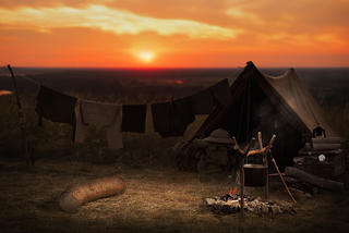 It's all fun and games at deer camp. (Shutterstock photo)