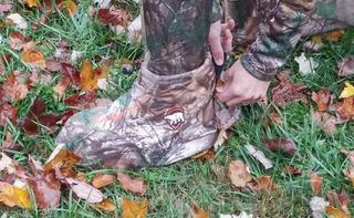 Realtree.com Associate Editor Josh Honeycutt tested out the Arctic Shield Boot Insulators...and loved them. (Chantal Honeycutt photo)