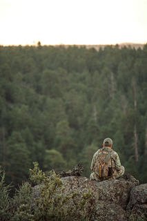Your guide scouted the land. You haven't. Remember that. (Realtree/ Heartland Bowhunter photo)