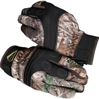 Rocky Broadhead Ultra Grip Gloves in Realtree Xtra