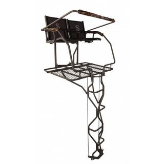 Summit Treestands Vine Double Ladder Stand with Realtree Camo