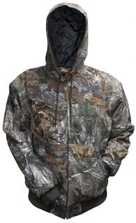 Wells Lamont Quilt-Lined Canvas Jacket in Realtree Xtra
