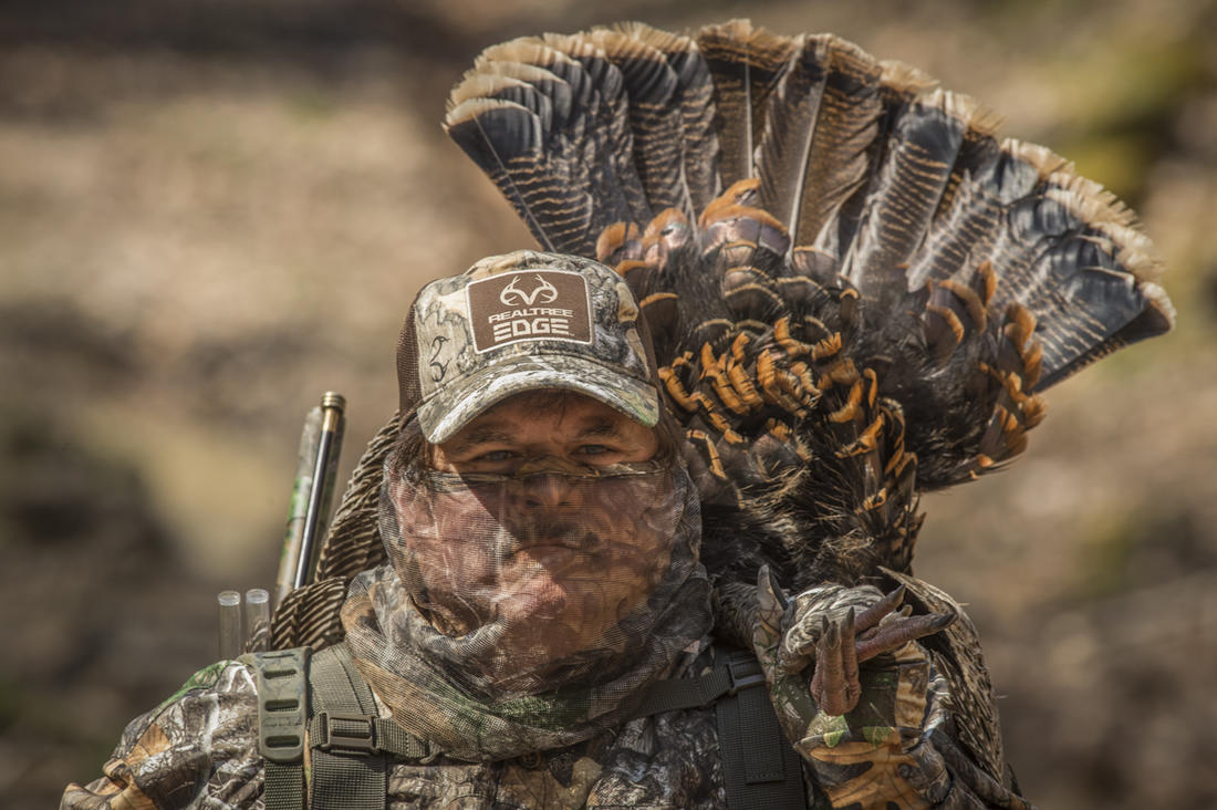 Tagging an opening-day gobbler is a time of sweet satisfaction. © Bill Konway photo