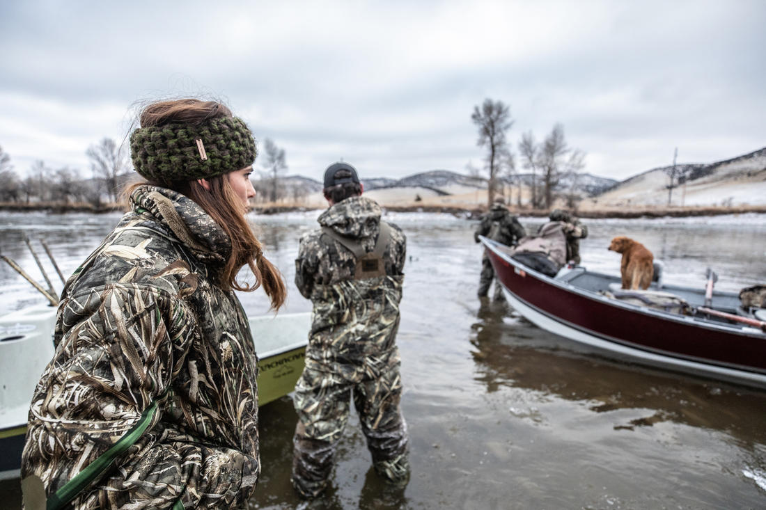 """""""It looks like we'll have company in the marsh today. I wonder what kind of public-land waterfowlers these guys are."""" Photo © Nick Costas"""