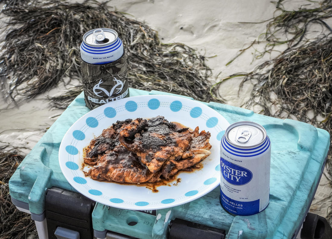 Serve alongside your favorite beverage as you continue to fish.
