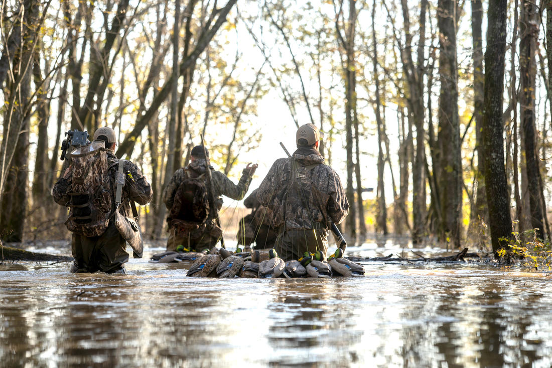 Duck hunter numbers have decreased considerably in recent years, but Delta Waterfowl intends to rectify that. Photo © Phil Kahnke