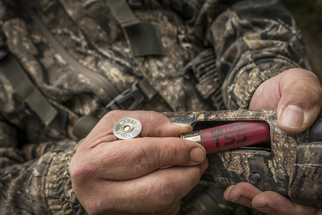Use the best turkey load possible for your shotgun. Period. (© Bill Konway photo)